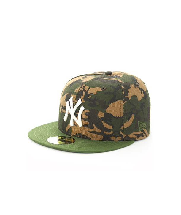 CAMO TEAM FITTED NY 80489237